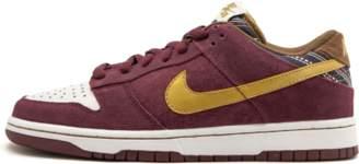 Nike Dunk Low Pro SB Team Red/Metallic Gold