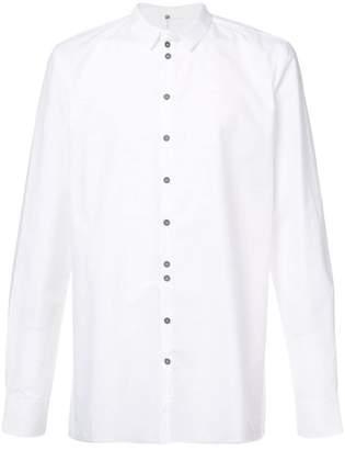 Label Under Construction buttoned slim-fit shirt