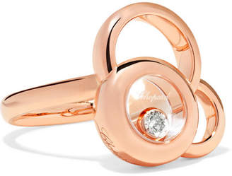 Chopard Happy Dreams 18-karat Rose Gold Diamond Ring