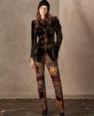 Ralph Lauren Bettie Double-Breasted Jacket