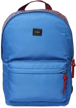 Dolce & Gabbana Logo Band Nylon Canvas Backpacks