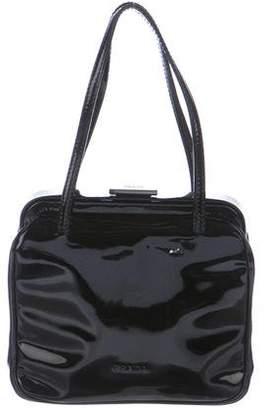 Prada Patent Leather Handle Bag