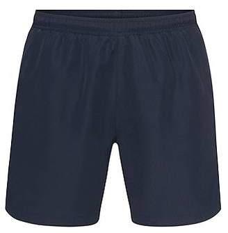 HUGO BOSS Longer-length swim shorts in technical fabric