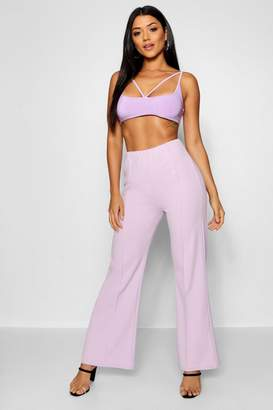 boohoo Front Crease Trouser