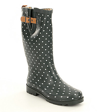 ChookaChooka Classic Dot Rain Boots