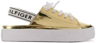 Tommy Hilfiger open heel sneakers