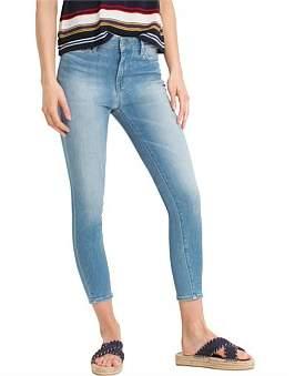 Tommy Hilfiger Harlem High Waist Cropped Jean