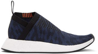 adidas Black and Indigo NMD-CS2 PK Sneakers