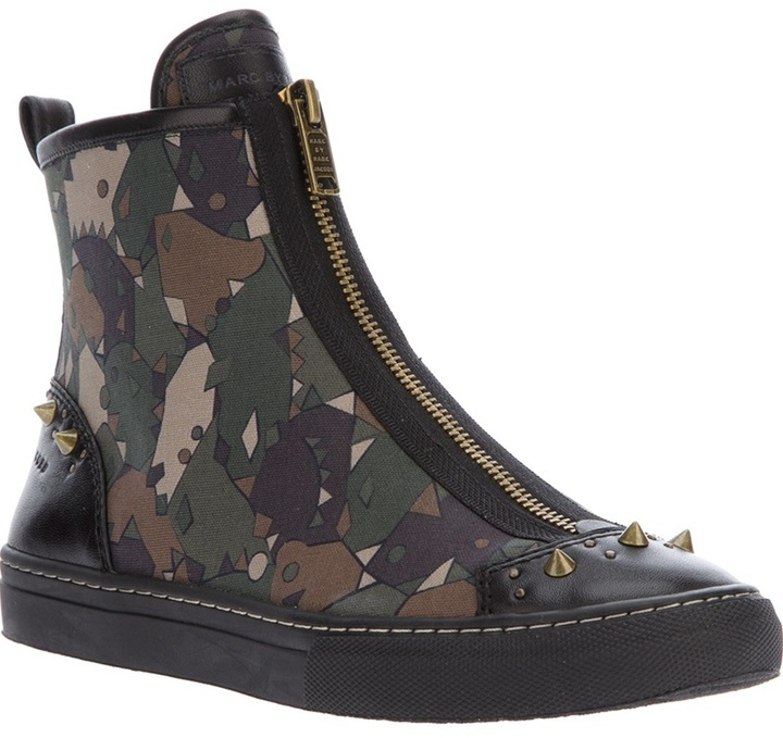 Marc by Marc Jacobs studded trainer