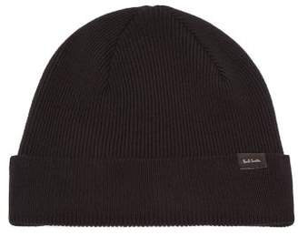 4e23d2d478e Paul Smith Wool Beanie Hat - Mens - Black
