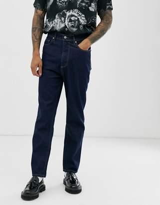 Asos Design DESIGN high waisted jeans in indigo