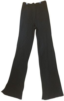 Avelon Black Trousers for Women