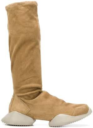 Rick Owens Adidas By platform knee-length boots