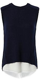 Brochu Walker Layered Sleeveless Knit $298 thestylecure.com