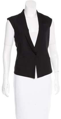 Helmut Lang Wool Single-Button Vest