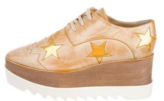 Stella McCartney Vegan Leather Platform Oxfords multicolor Vegan Leather Platform Oxfords