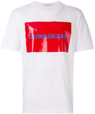 Calvin Klein Jeans Est. 1978 logo print T-shirt