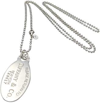 Tiffany & Co. Return to silver long necklace