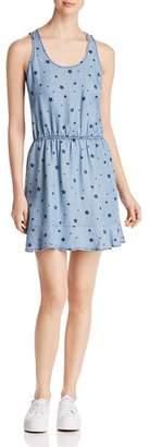 Velvet Heart Pia Star Print Chambray Dress
