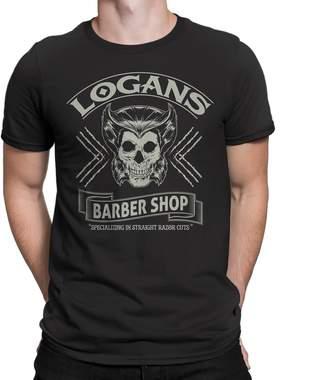 Wolverine Secret Level X-Men Inspired -Logan Logan's Barbershop Mens T-Shirt