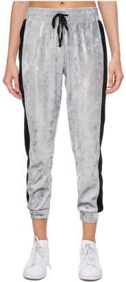 Juicy Couture Metallic Velour Side Stripe Pant