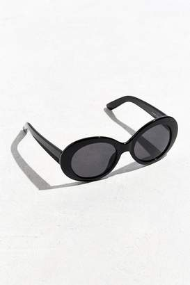 Urban Outfitters Plastic Oval Sunglasses