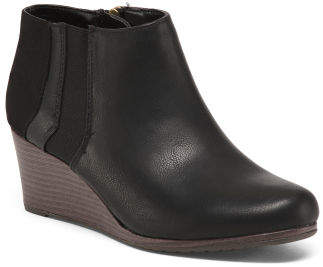 Wedge Chelsea Booties