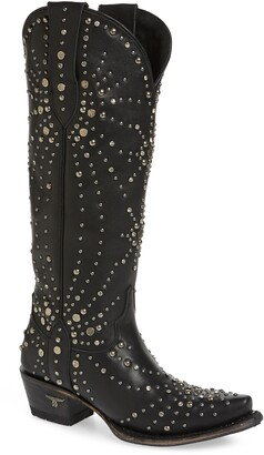 Fly London LANE BOOTS Sparks Studded Western Boot