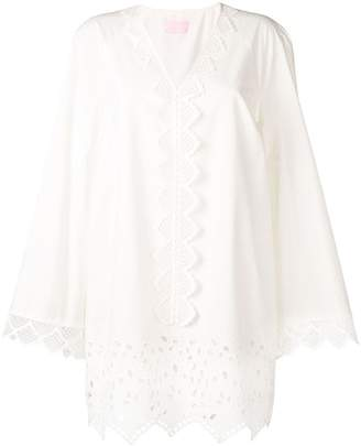 Giamba broderie anglaise tunic dress
