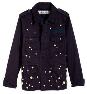 Tu es mon TRESOR Pearl Snow Field Cotton Jacket
