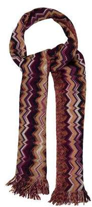 Missoni Wool Chevron Scarf