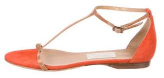 Salvatore Ferragamo T-Strap Buckle Sandals