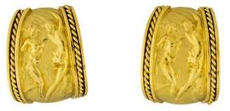 Seidengang 18K Figure Clip-On Earrings