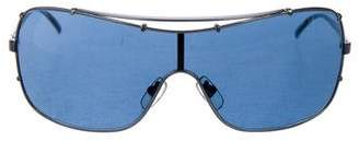 DKNY Tinted Shield Sunglasses