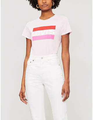 Levi's The Perfect Graphic cotton-jersey T-shirt