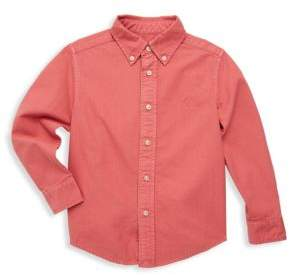 Ralph Lauren Toddler's, Little Boy's& Boy's Cotton Button-Front Shirt