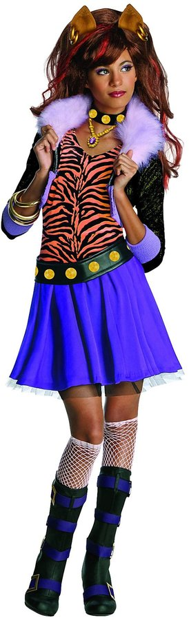 Rubie's Costume Co Monster High Clawdeen Wolf Costume-S (4-6)