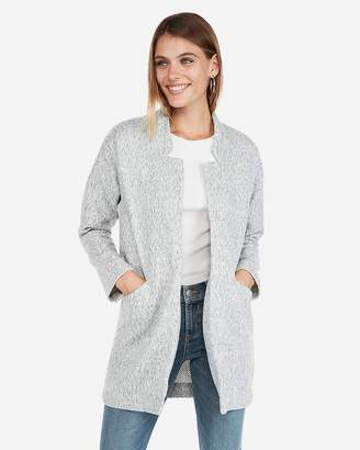 Express Oversized Tailored Knit Blazer