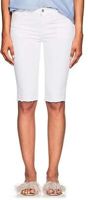 J Brand Women's 811 Bermuda Mid-Rise Denim Shorts