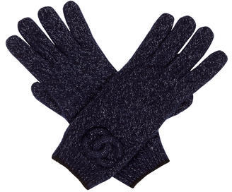 Chanel Chanel CC Cashmere Gloves