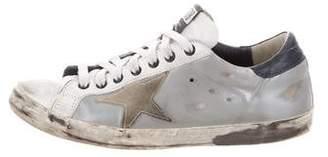 Golden Goose Superstar Metallic Sneakers
