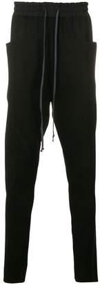 The Viridi-anne plain drop-crotch trousers