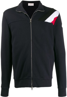 Moncler long zip front sweater