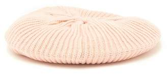 David & Young Solid Knit Beret