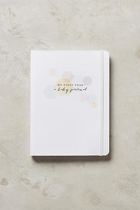 Anthropologie My First Year: A Baby Journal $29.99 thestylecure.com