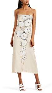 BY. Bonnie Young Women's Floral Slipdress - Nudeflesh