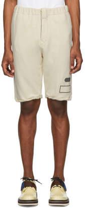 Marni Off-White Sweat Shorts