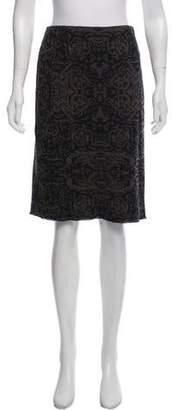Marc Cain Wool Knee-Length Skirt w/ Tags