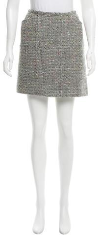ChanelChanel Tweed Mini Skirt