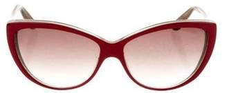 Alexander McQueen Oversize Cat-Eye Sunglasses